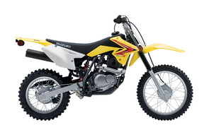 DRZ-125 - Ideal for teenagers & women up to 162cm/60kg. Not suitable for learners, as they are kick start.